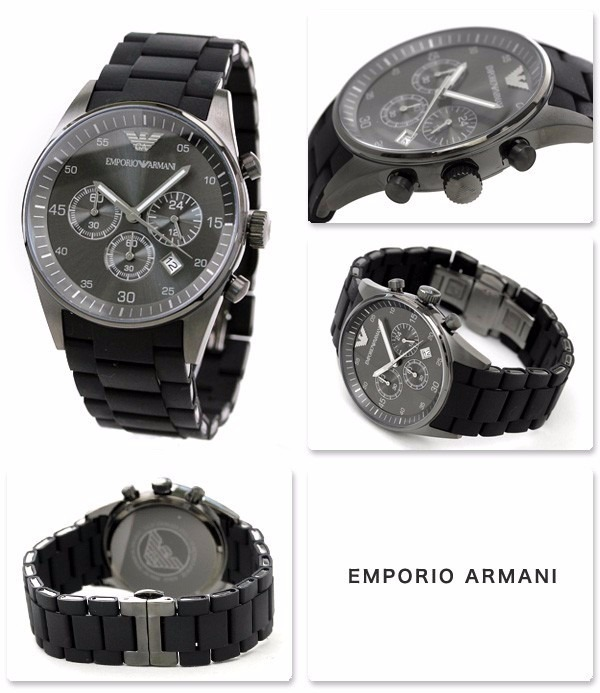 56564fce014 Relógio Emporio Armani Ar5889 Preto Garantia 2 Anos Na Caixa - R ...