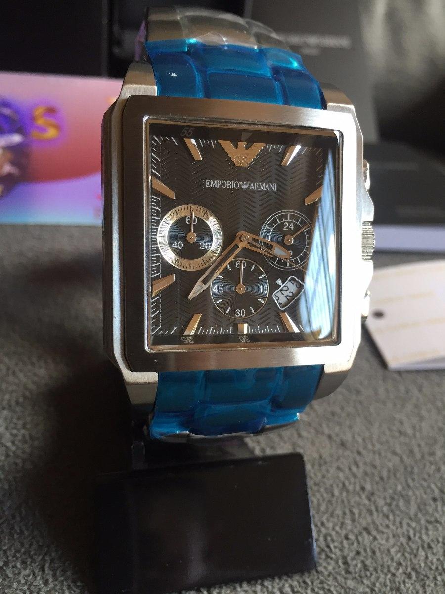 43ccc45f14c Relógio Emporio Armani Ar0659 Kaká Original Completo C caixa - R ...