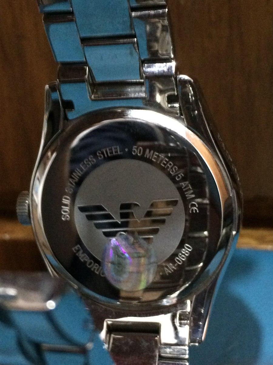 79479e540e0 Relógio Emporio Armani Ar 0680 - Com Certificado - Original - R  879 ...