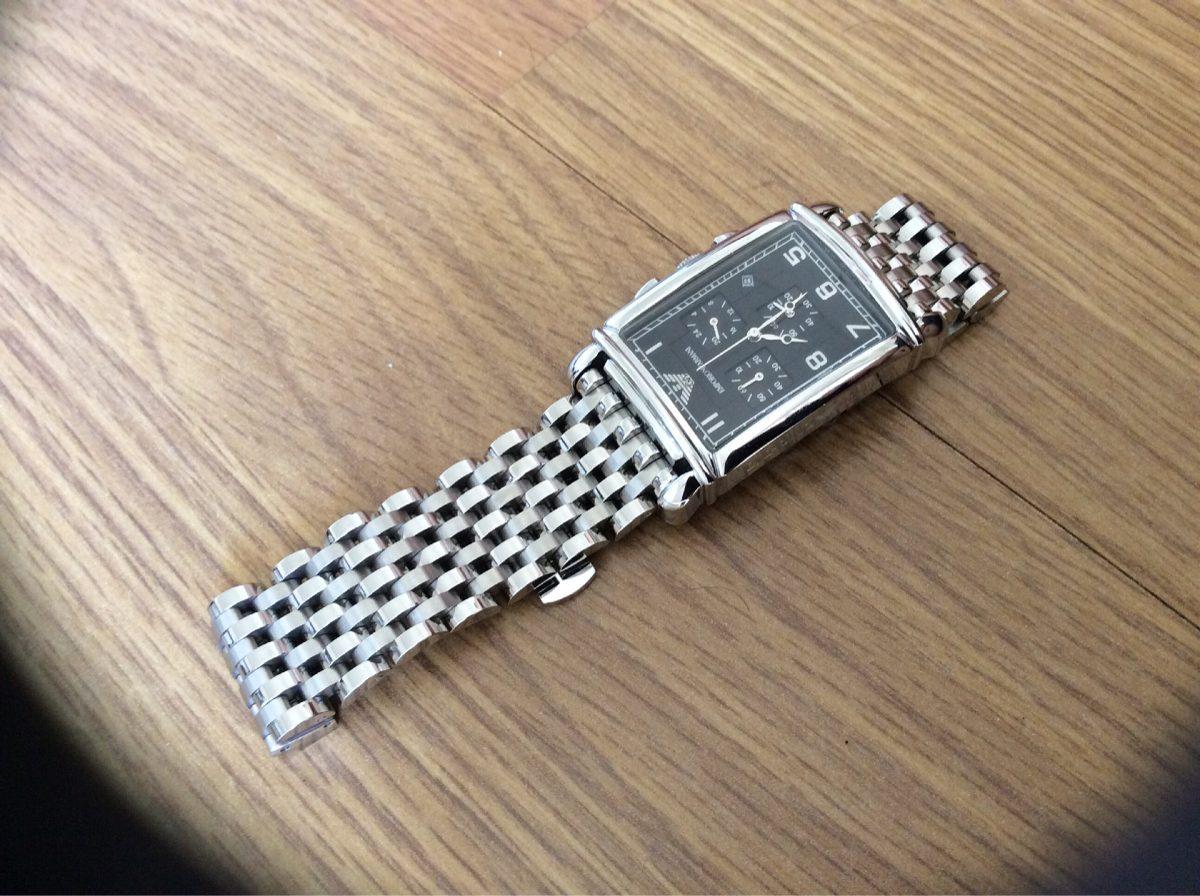 945c157cee5 Relógio Empório Armani Ar 0299 - R  1.599