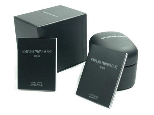 861d98c9b67 relógio emporio armani ar5905 preto ar5919 branco c  caixa ! relógio  emporio armani