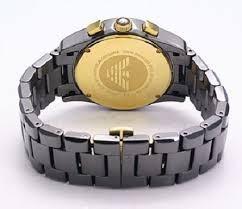 2447d63b209 Relógio Empório Armani Ar1413 Cerâmica Original Com Caixa
