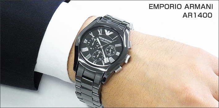 932392ddaf6 relógio emporio armani ar1400 cerâmica c  caixa 12x s  juros. Carregando  zoom... relógio emporio armani