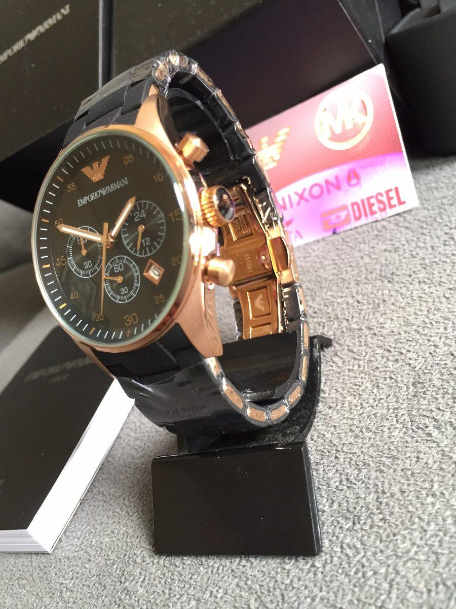 f5e708baeb3 Relógio Emporio Armani Ar5905 100% Original 12x Sem Juros - R  449 ...