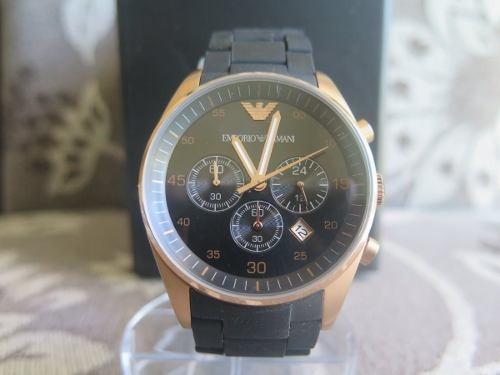 4f2d2abb195 relógio emporio armani ar5905 original com caixa seminovo · relógio emporio  armani