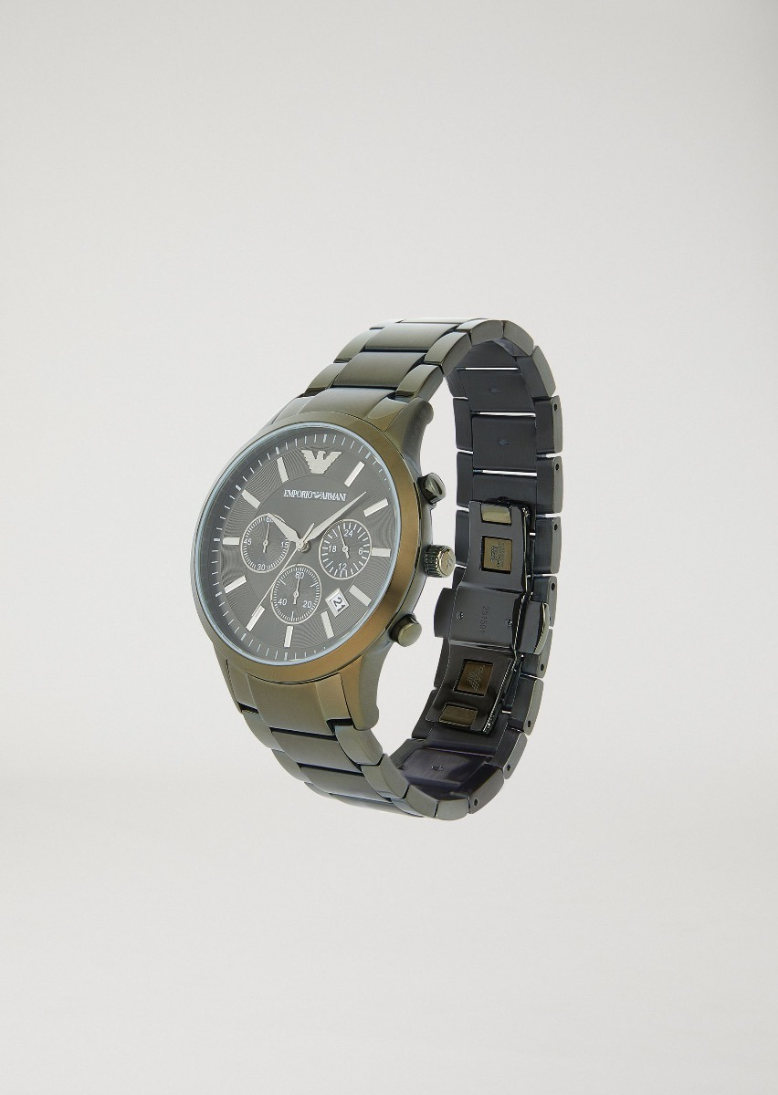 efe76f48117 Relogio Emporio Armani Stopwatch 8700 - Garantia Original - R  329 ...