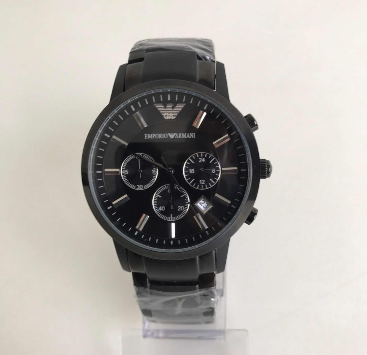 f32c1071233 Relógio Emporio Armani Ar-2455 Preto. - R  599