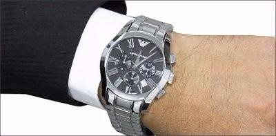 7e764ee4c5b Relógio Emporio Armani Ar0673 Frete Gratis Com Caixa - R  699