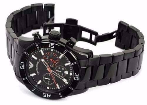 04a262a3d24 Relógio Emporio Armani Ar5931 Preto Lançamento Caixa Ar4958 - R  662 ...