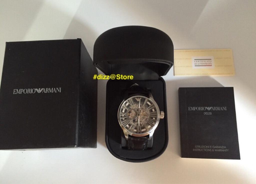 acc14bdedaa Relógio Emporio Armani Ar4629 Original - R  999