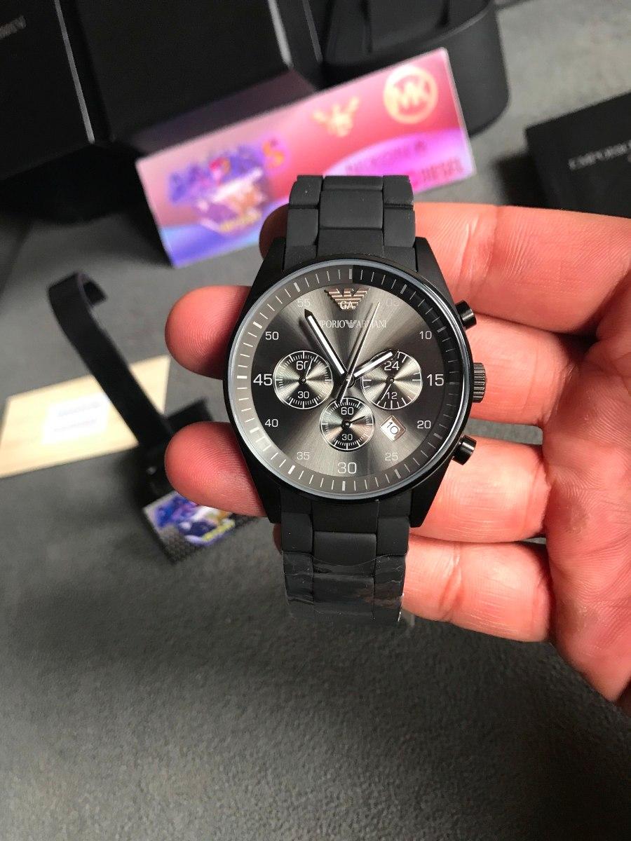 b2545cf331e Relógio Emporio Armani Ar5889 Black Original Completo Caixa - R  549 ...