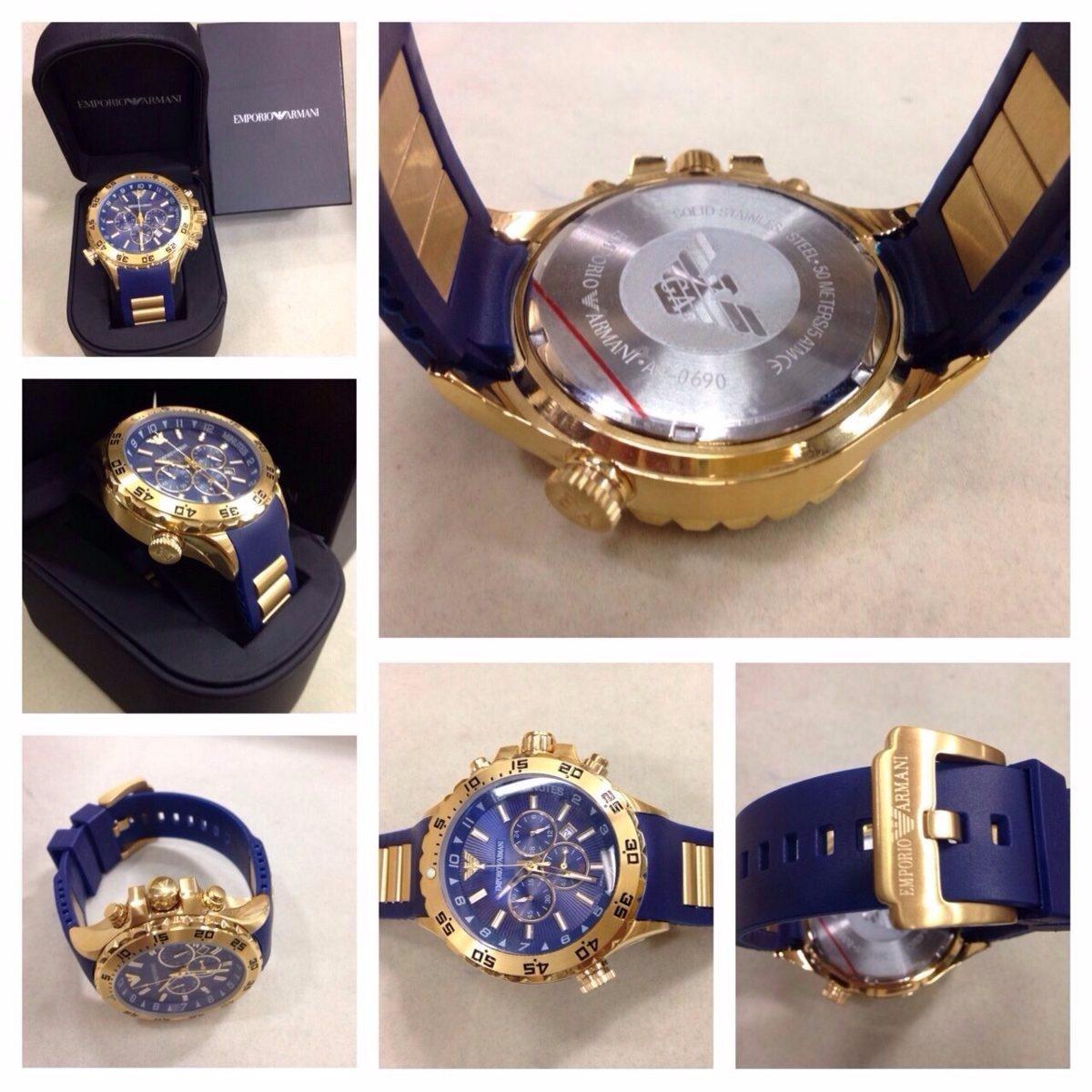 96d84bf05c1 relógio empório armani ap 0690 100% original. Carregando zoom.