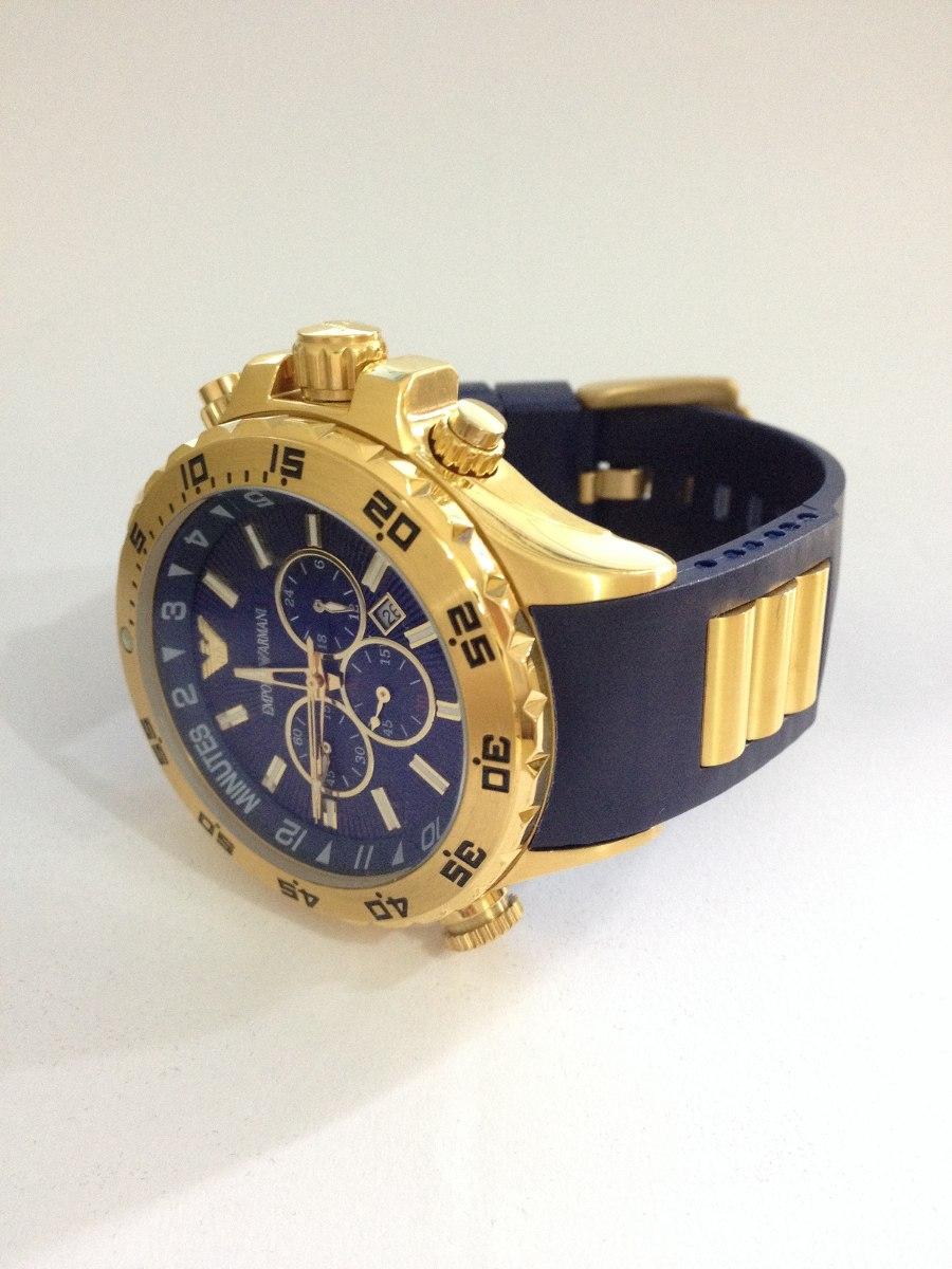 beddc0c2a55 relógio emporio armani ap0690 azul (frete gratis). Carregando zoom.