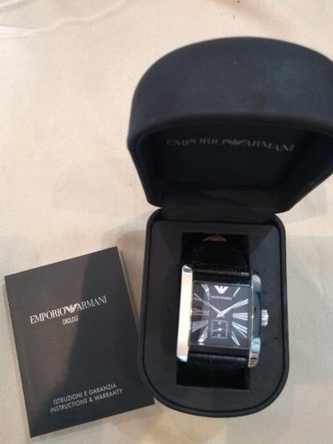 relógio emporio armani - ar 0108