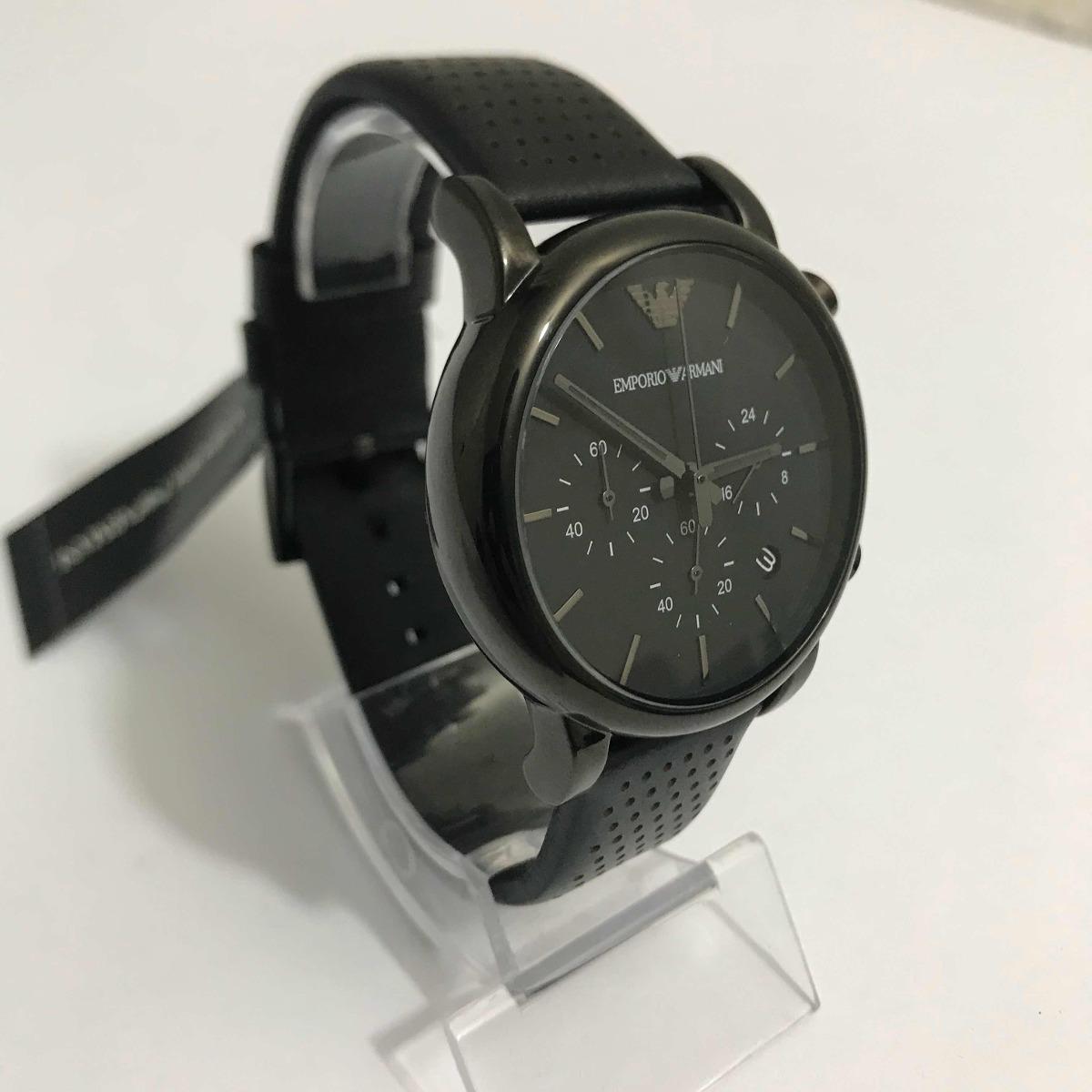 191cfbf324ec2 Relógio Emporio Armani Ar-1737 Preto. - R  699,00 em Mercado Livre