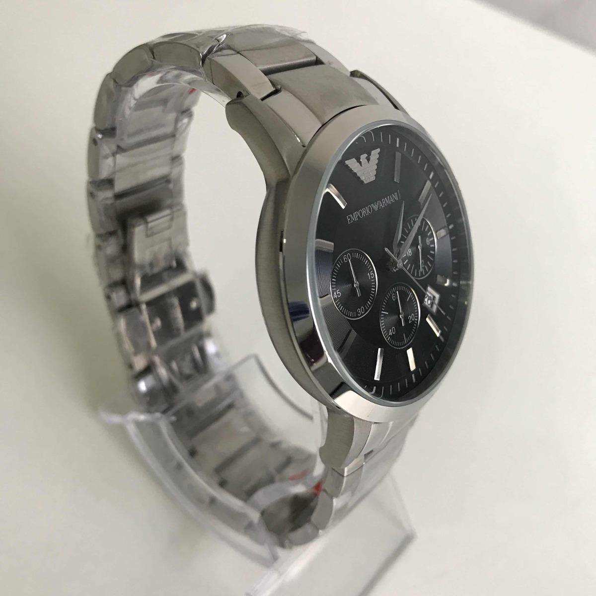 632d300f5 Relógio Emporio Armani Ar-2434 Prata. - R$ 599,00 em Mercado Livre