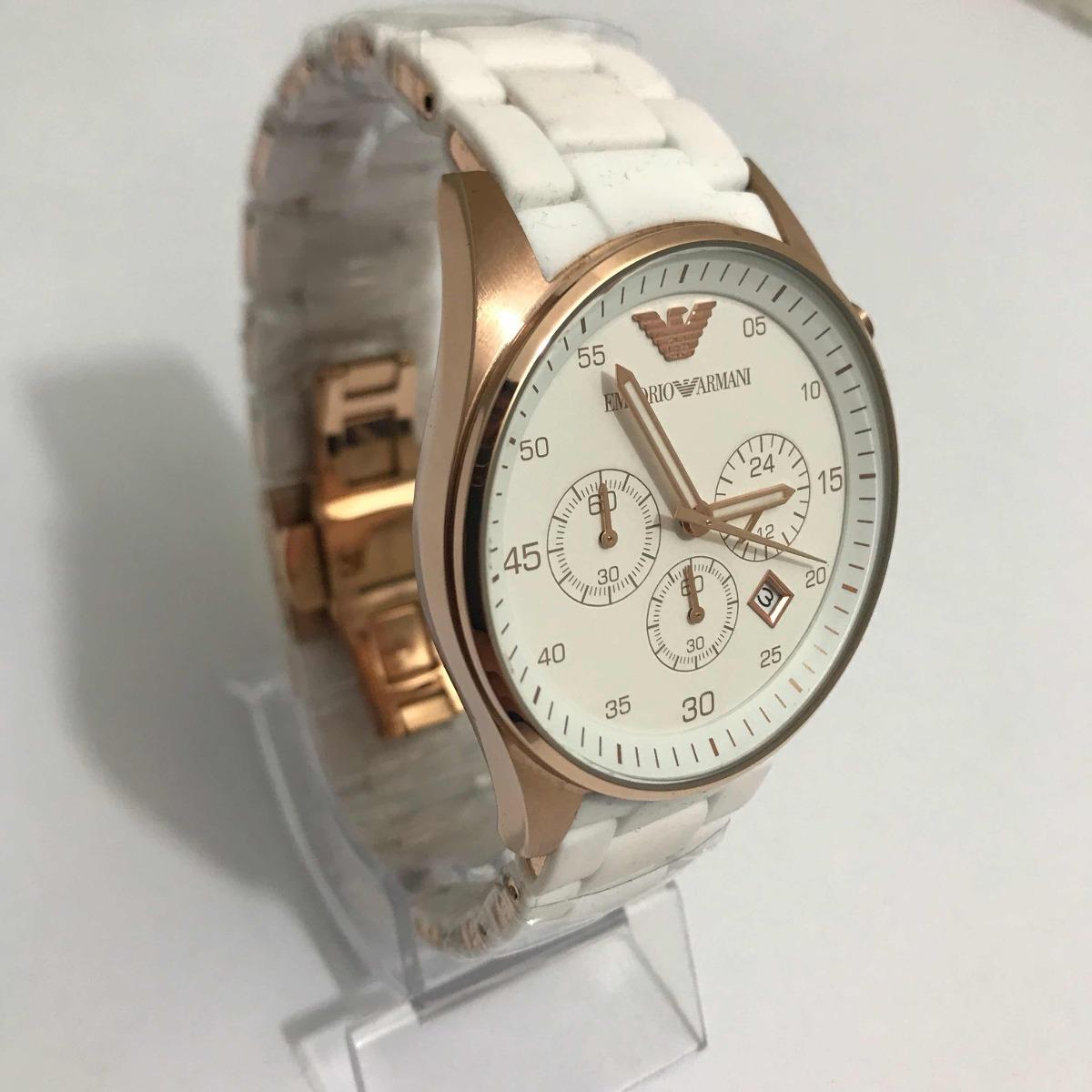633d639730285 Relógio Emporio Armani Ar-5919 Branco. - R  599,00 em Mercado Livre