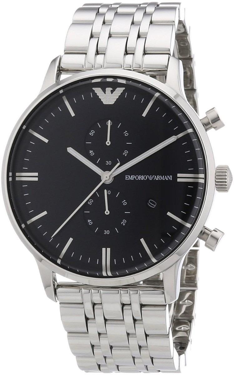 2787178d338 relógio emporio armani ar0389 prata original frete grátis. Carregando zoom.