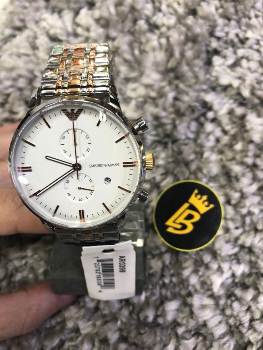 ddc28782ba8 Relógio Empório Armani Ar0399 Misto