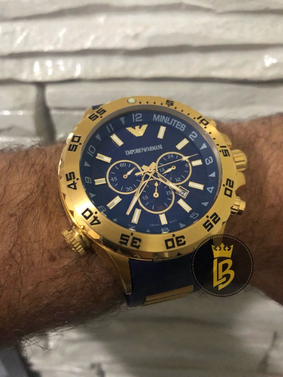 e3ab2c689fc relógio empório armani ar0690 100% original com garantia. Carregando zoom.