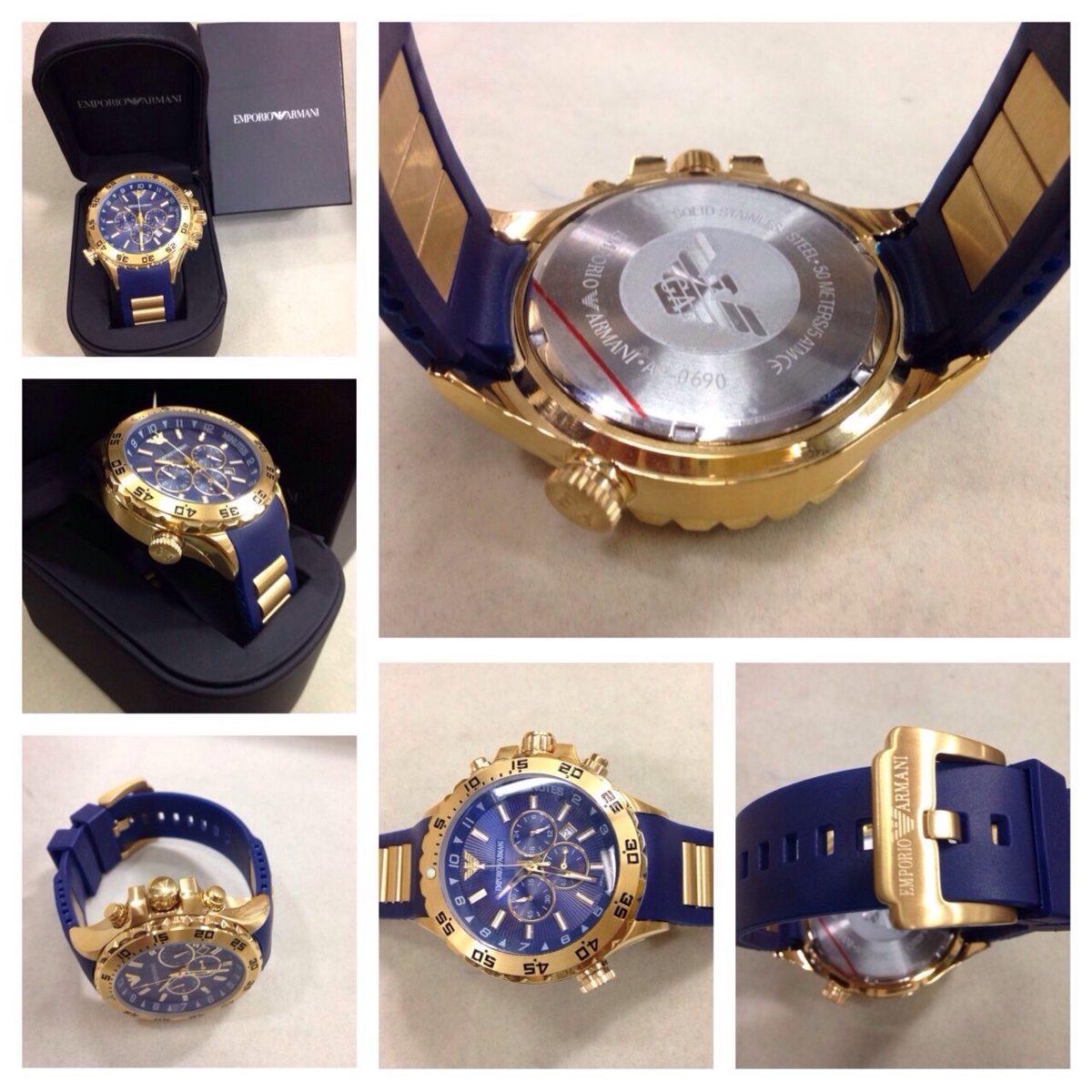 5b125b05701 relógio empório armani ar0690 - sem caixa. Carregando zoom.