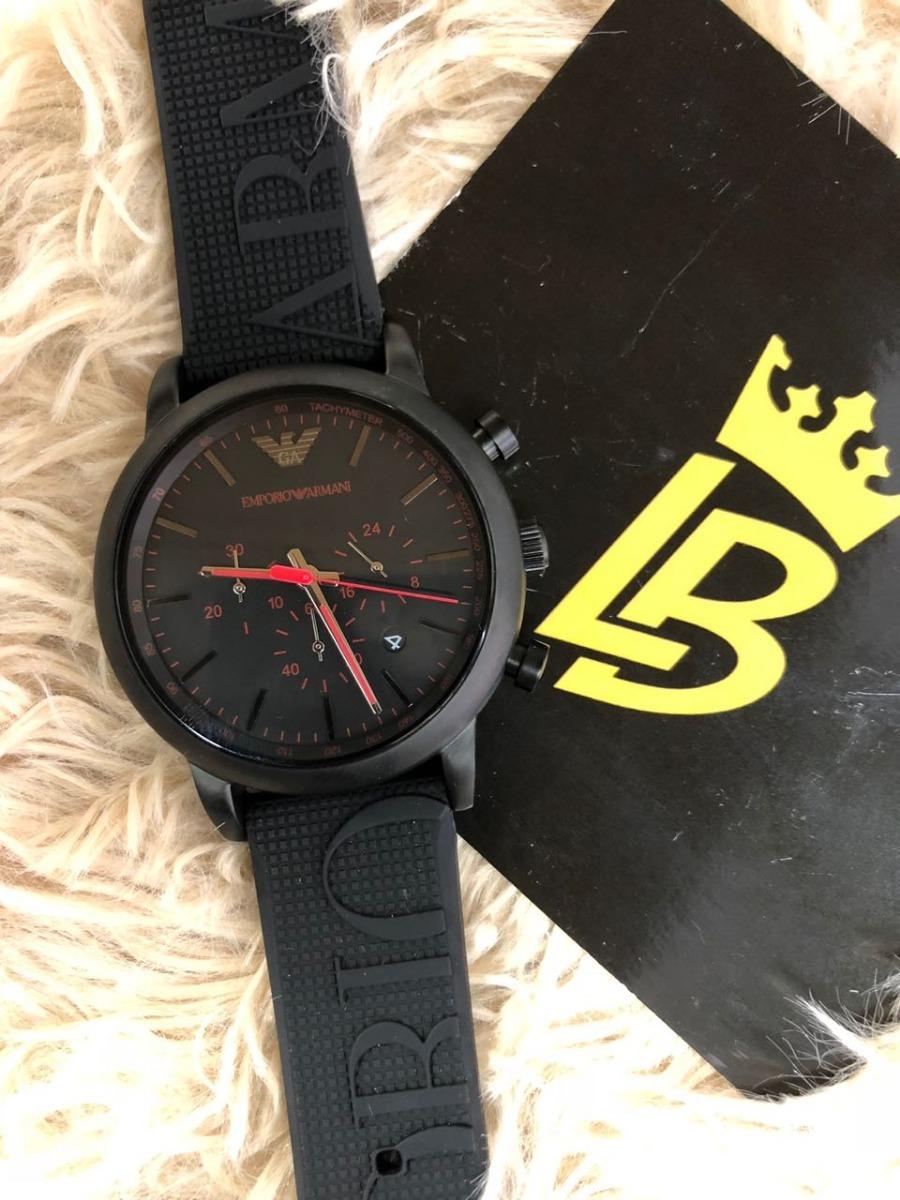 8df09310700 Relógio Empório Armani Ar11024 Black