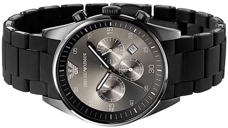 ac5ebf3327a Relógio Emporio Armani Ar1400 Ceramica Preto Ofertas - R  336
