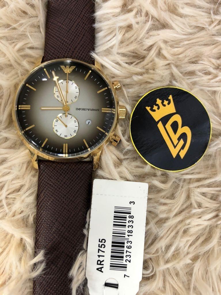 3f8c6ea530f Relógio Emporio Armani Ar1755 100% Original