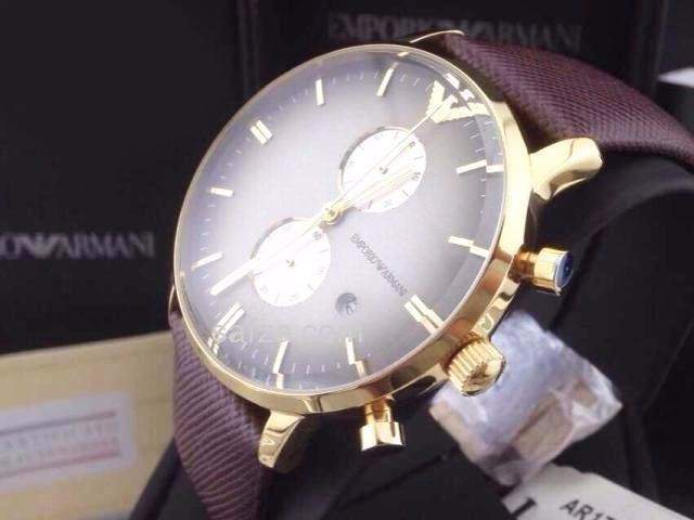 39e23b6d086 Relógio Emporio Armani Ar1755 Frete Gratis Garantia Comple - R  550 ...
