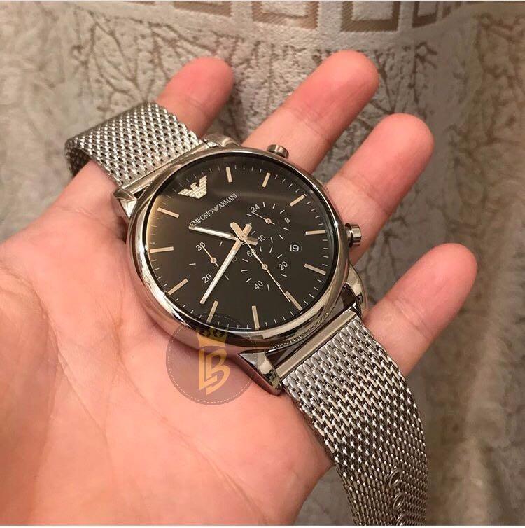 fb9d1307d73 Relógio Empório Armani Ar1808 Original Com Garantia 1 Ano - R  807 ...