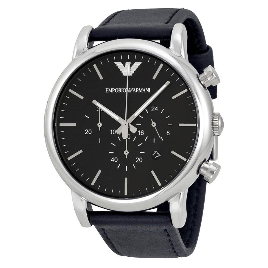 2cebb4a6d14 809207f5c16 relógio emporio armani ar1828 original + caixa + 3 anos de g. Carregando  zoom  0a4fa18aee8 Relógio Emporio Armani Ar2453 ...