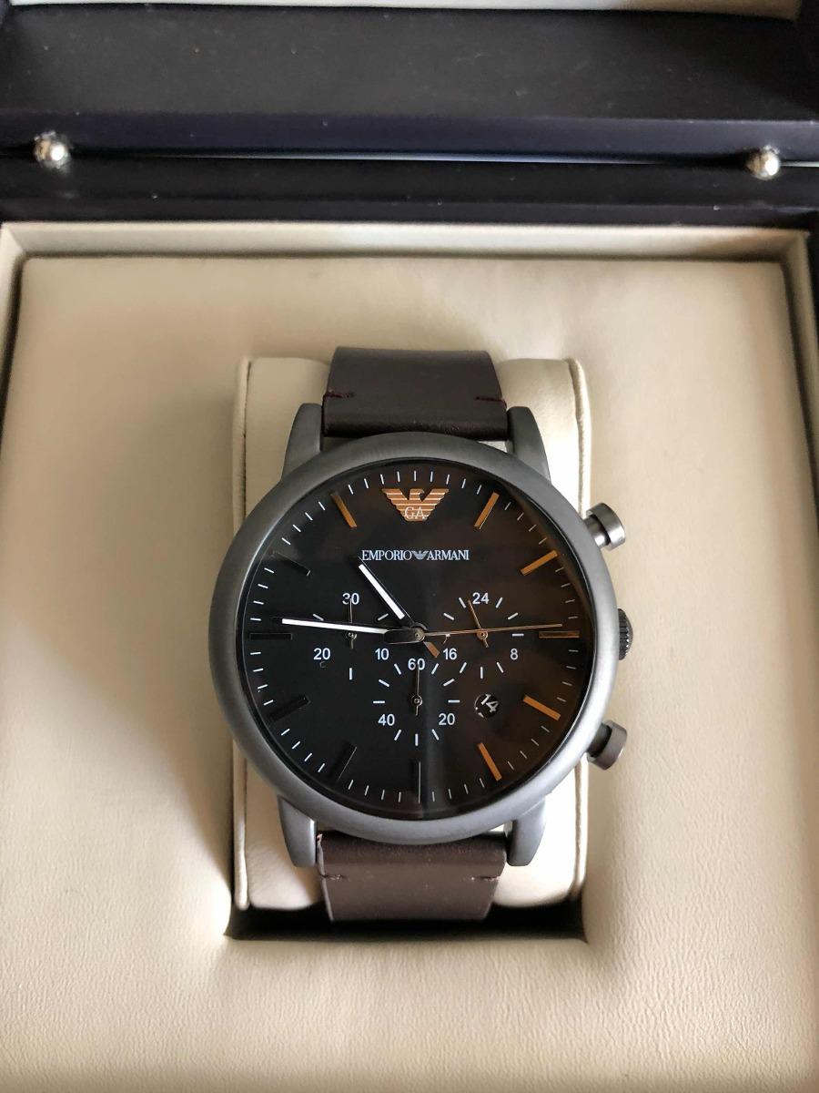 Preis elegantes und robustes Paket Bestbewertete Mode Relógio Empório Armani Ar1919