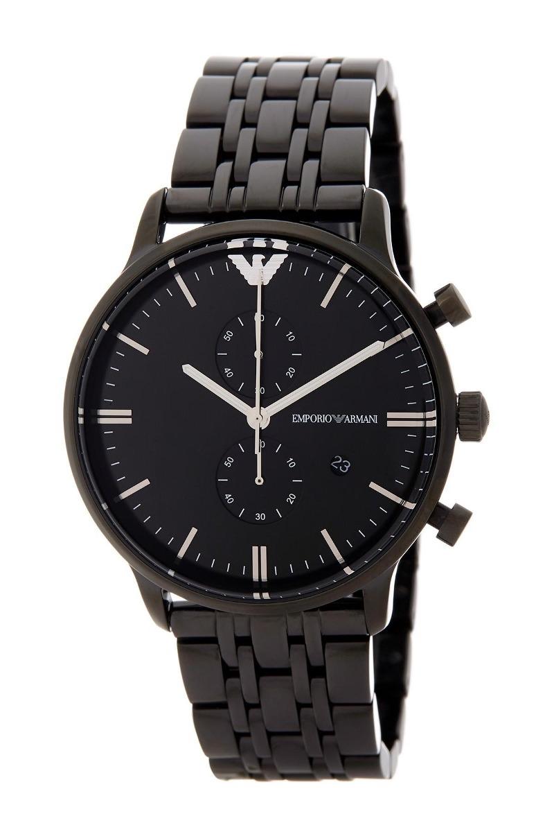09d27e9ac35 relógio emporio armani ar1934 retro original masculino preto. Carregando  zoom.