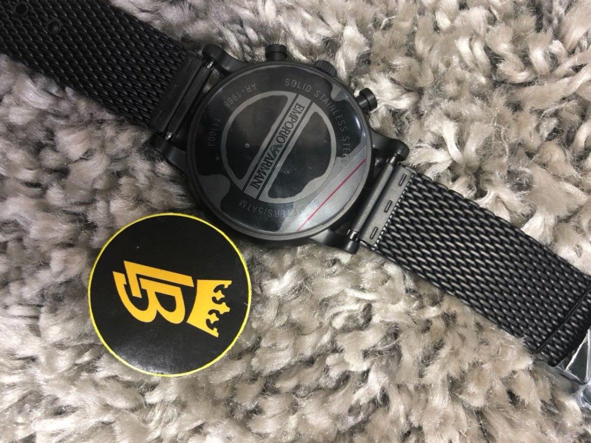 0ae4bed45d2 Relógio Empório Armani Ar1968 Original
