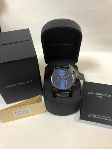 relógio emporio armani ar1979 com caixa e garantia