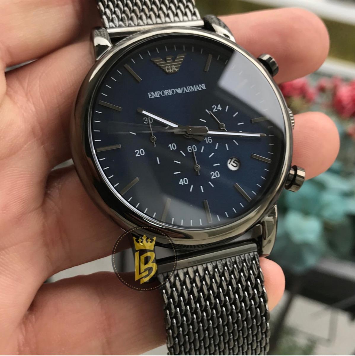 08b230aff25 Relógio Empório Armani Ar1979 Foto Real Do Produto