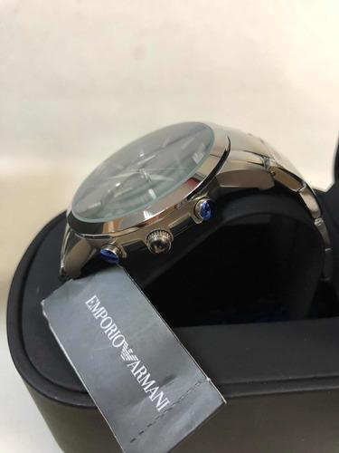 relógio emporio armani ar2434 com caixa e garantia