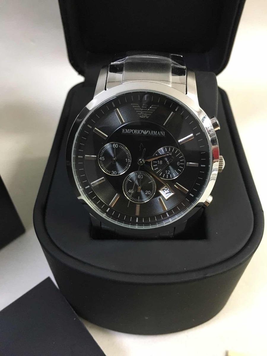 36ae56020f0 relógio emporio armani ar2434 f p c caixa e garantia. Carregando zoom.