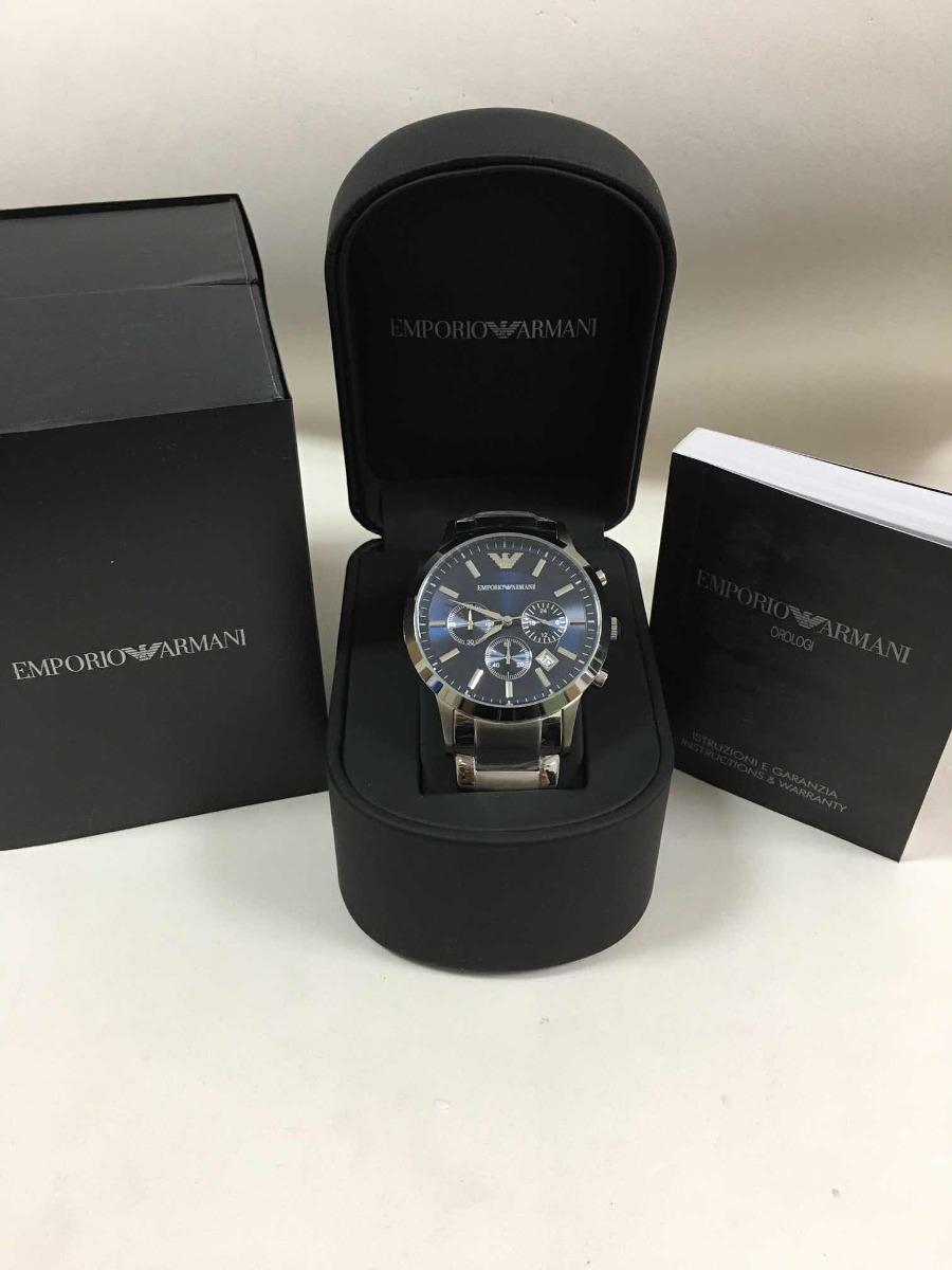 8d90df4c1be relógio emporio armani ar2448+ caixa manual e garantia. Carregando zoom.