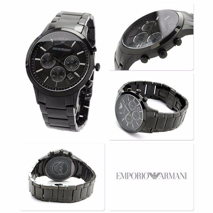 76e8c8ad86a Relógio Emporio Armani Ar2453 Preto Original Garantia 3 Anos - R ...