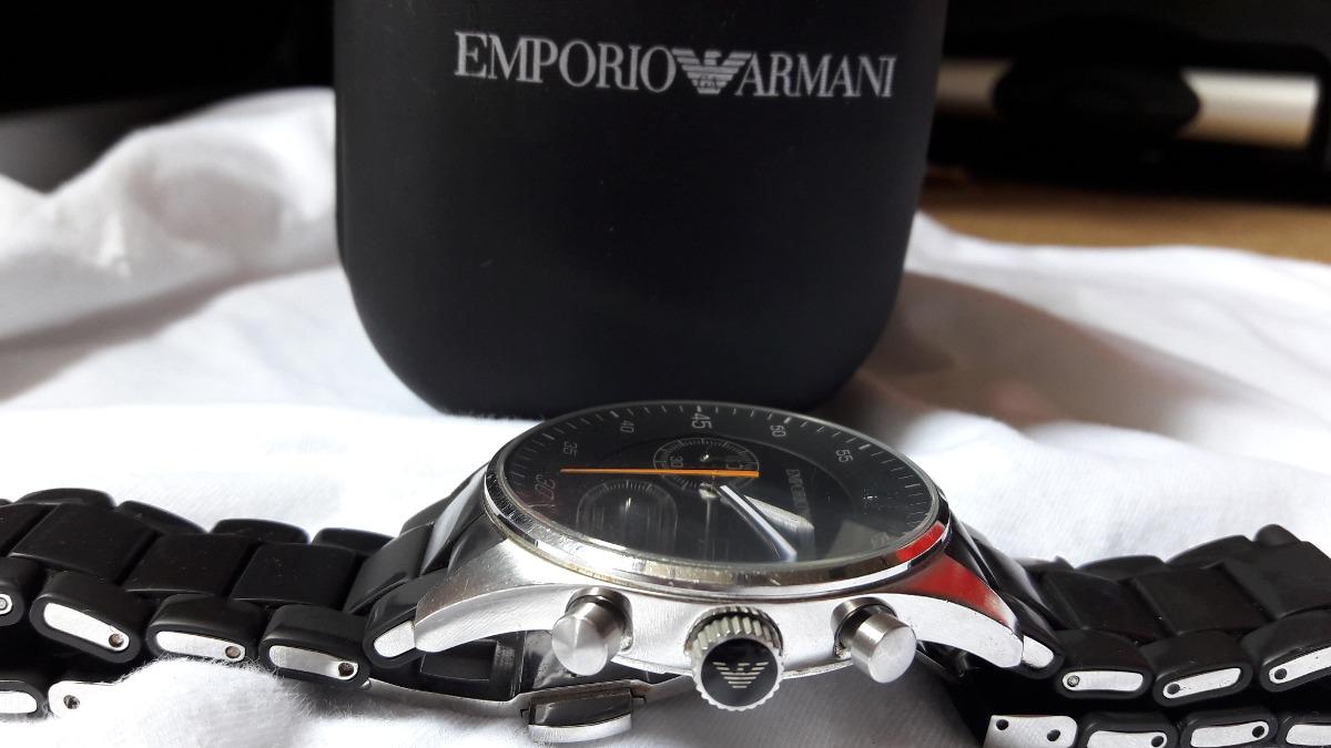 6f7624ac089 relogio emporio armani ar5858 preto - relógios de pulso no m. Carregando  zoom.