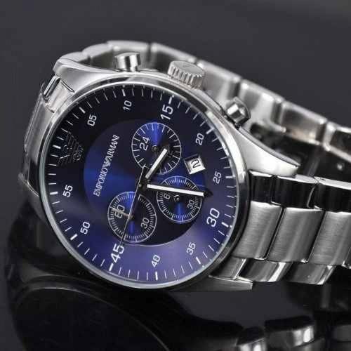 relógio empório armani ar5860 casual original + sedex grátis