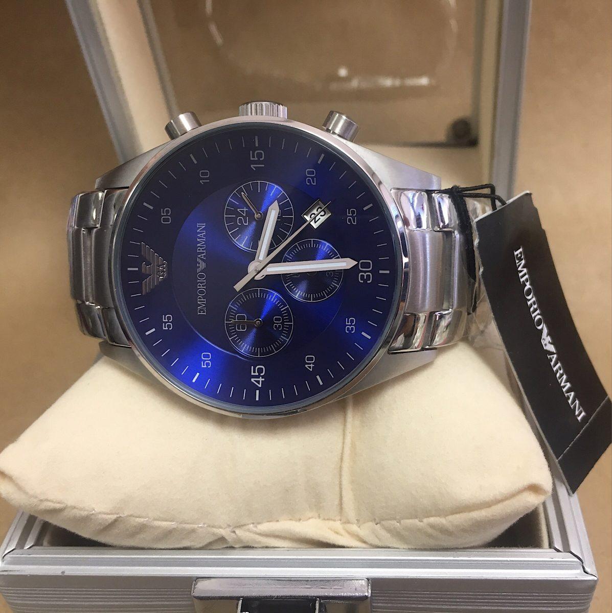 Relógio Empório Armani Ar5860 Com Caixa E Manual - R  298,00 em ... b9cf7773e8
