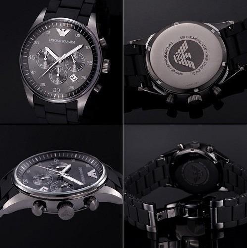 f3fe1800f20 Relógio Emporio Armani Ar5889 + Caixa + 3 Anos De Garantia - R  479 ...