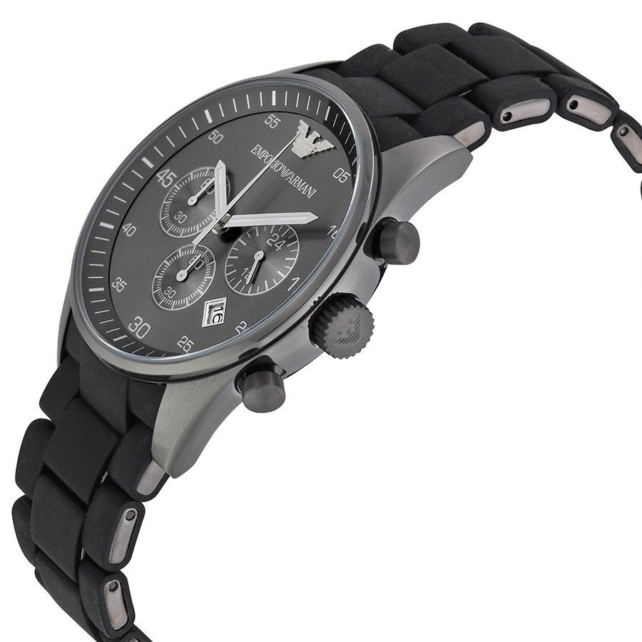 6ba280a7231 relógio emporio armani ar5889 preto original garantia 12x. Carregando zoom.