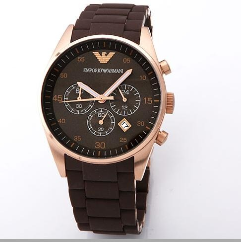 1b7fdece6040a Relógio Emporio Armani Ar5890 Masculino Garantia 3 Anos 43mm - R ...