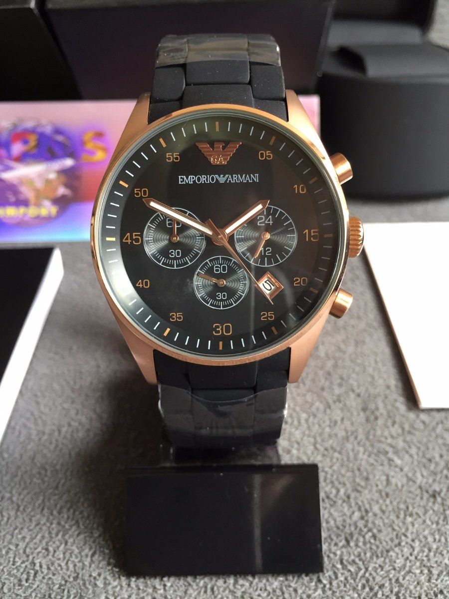 0c83947a4b3 Relógio Emporio Armani Ar5905 100% Original 12x Sem Juros - R  449 ...