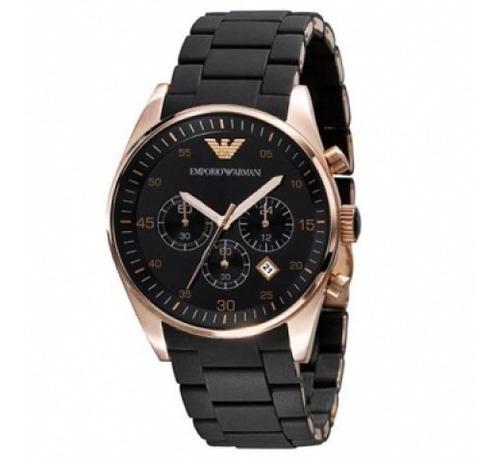 relógio emporio armani ar5905 original +garantia 43mm