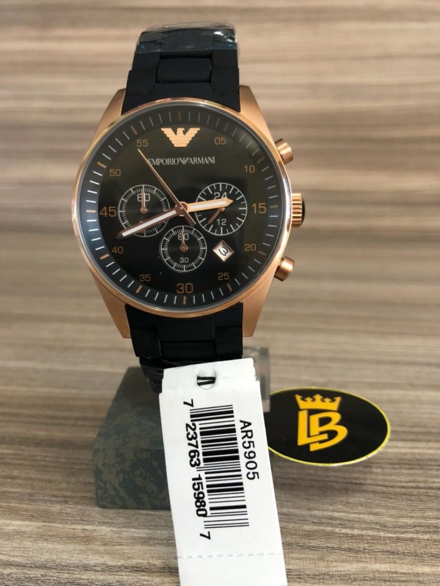 a433d08e7b0 Relógio Empório Armani Ar5905 Original