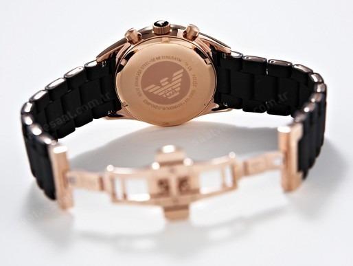 833d97e168d Relógio Emporio Armani Ar5905 Preto Ar5919 Branco C  Caixa ! - R ...